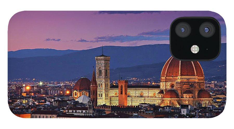 Outdoors IPhone 12 Case featuring the photograph Cattedrale Di Santa Maria Del Fiore - by Www.matteorinaldi.it