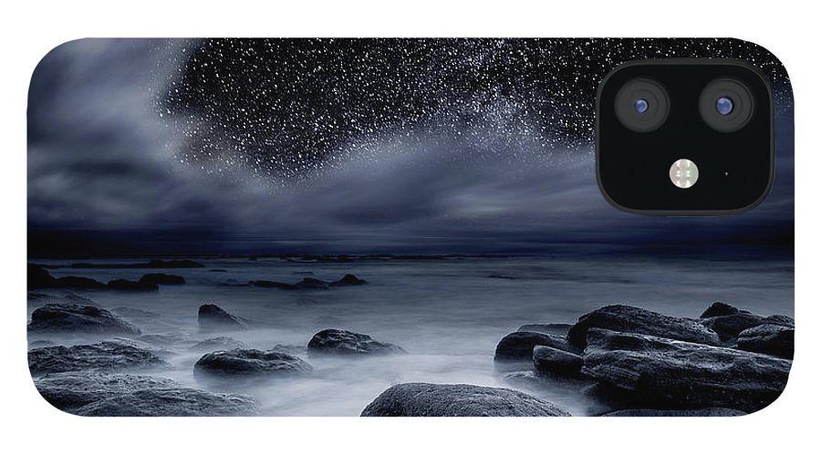 Night IPhone 12 Case featuring the photograph Celestial Night by Jorge Maia