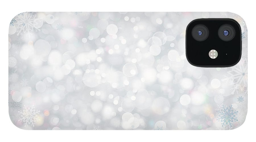 Holiday IPhone 12 Case featuring the photograph Christmas Background by Sbayram