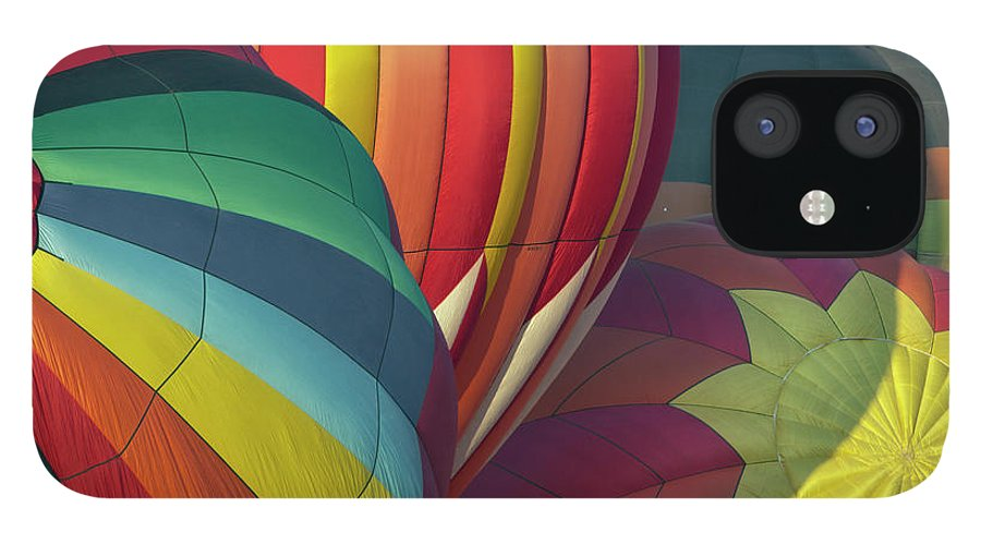 Celebration IPhone 12 Case featuring the photograph Colorful Inflation Balloon Race by Provided By Jp2pix.com