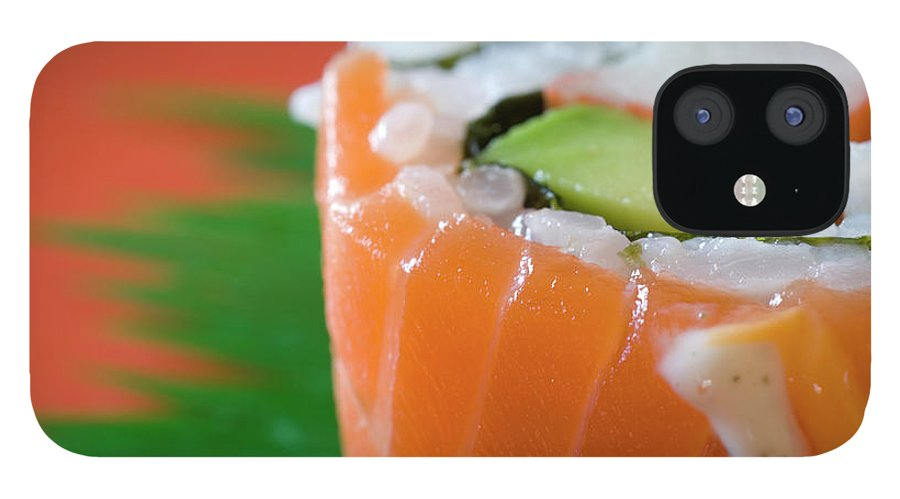 Asian And Indian Ethnicities IPhone 12 Case featuring the photograph Colorful Sushi by Creativeye99