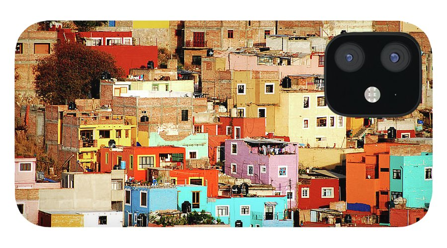 Tranquility iPhone 12 Case featuring the photograph Colors On Hill by Nan Zhong