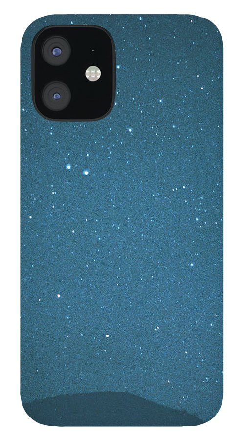 Comet IPhone 12 Case featuring the photograph Comet Iras-araki-alcock And Star by Digital Vision.