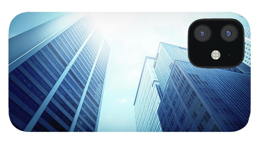 Chinese Culture IPhone 12 Case featuring the photograph Contemporary Office Building by Ithinksky