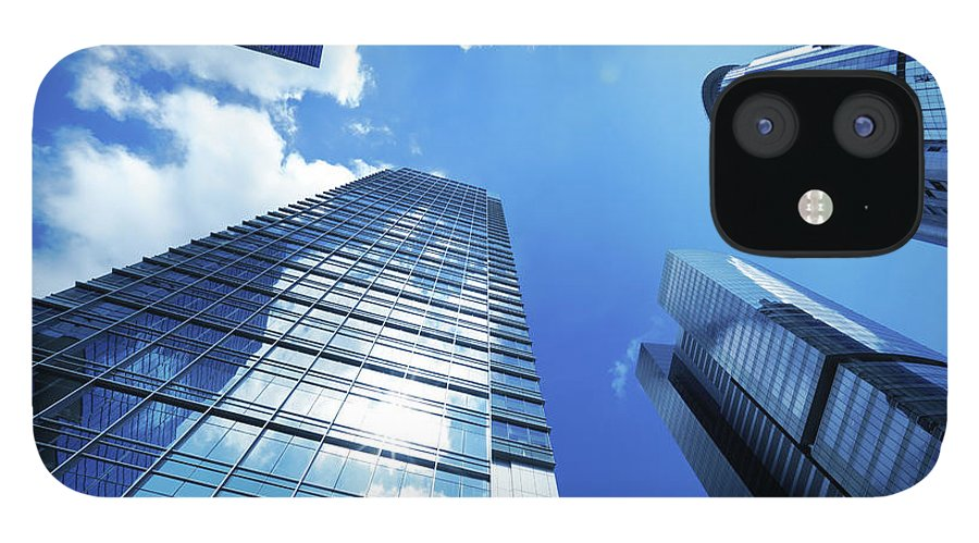 Corporate Business IPhone 12 Case featuring the photograph Corporate Building by Samxmeg