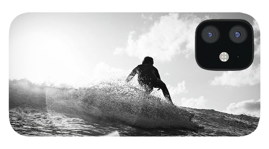 Three Quarter Length IPhone 12 Case featuring the photograph Crouching by Mark Leary