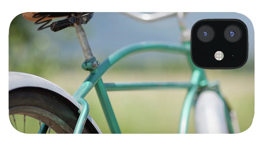 Tranquility IPhone 12 Case featuring the photograph Cruiser Bicycle by Rocksunderwater