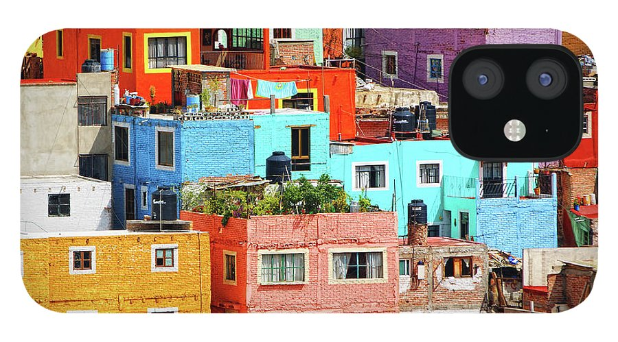 Stone Wall IPhone 12 Case featuring the photograph Cultural Colonial Cities Of Mexico by Www.infinitahighway.com.br