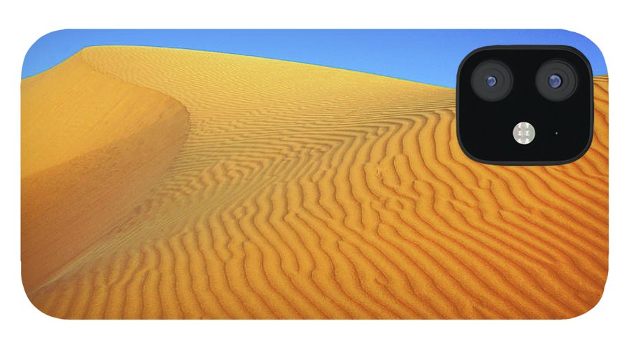 Scenics IPhone 12 Case featuring the photograph Diminishing Lines by Asmin Kuntal
