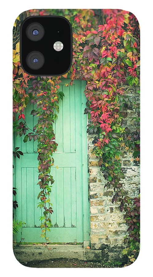 Tranquility IPhone 12 Case featuring the photograph Door To The Secret Garden by Image By Catherine Macbride