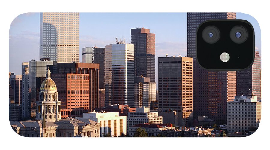 Scenics IPhone 12 Case featuring the photograph Downtown Denver by Filo