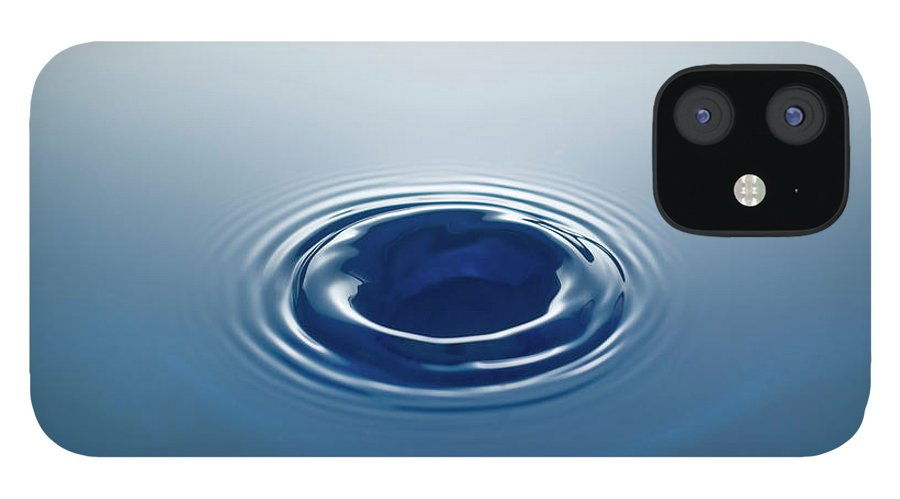Motion IPhone 12 Case featuring the photograph Drop by Stockcam