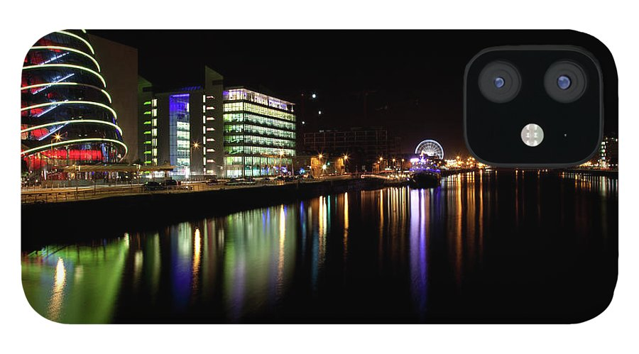Dublin IPhone 12 Case featuring the photograph Dublin City Along Quays by Image By Daniel King