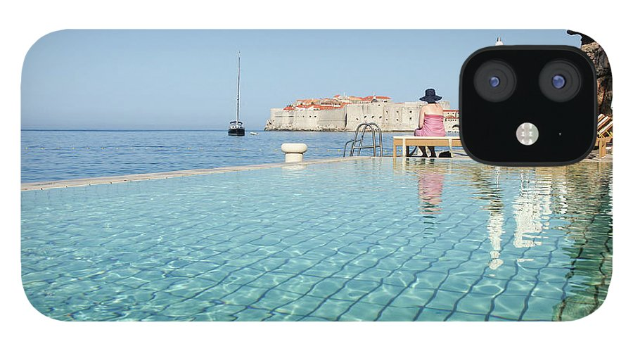 Adriatic Sea IPhone 12 Case featuring the photograph Dubrovnik In Dalmatia, Croatia by Davidcallan
