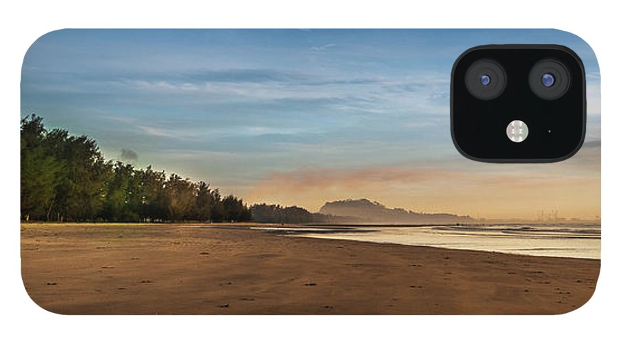 Tranquility iPhone 12 Case featuring the photograph Eastern Edge Of Malaysia by Simonlong