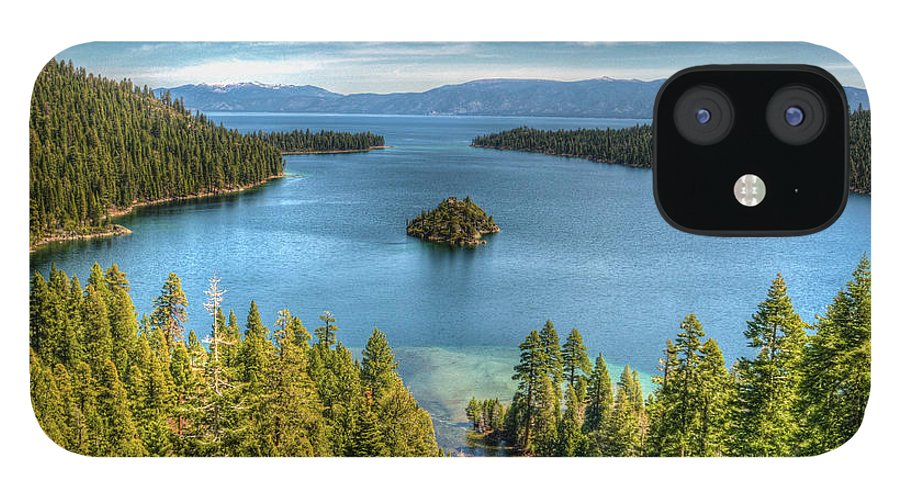 Scenics IPhone 12 Case featuring the photograph Emerald Bay by Karsten May