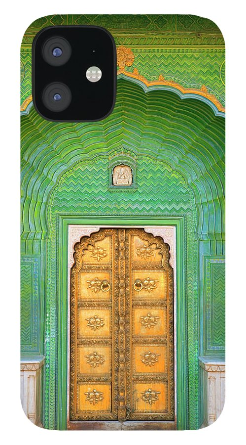 Tranquility IPhone 12 Case featuring the photograph Entrance To Palace by Grant Faint