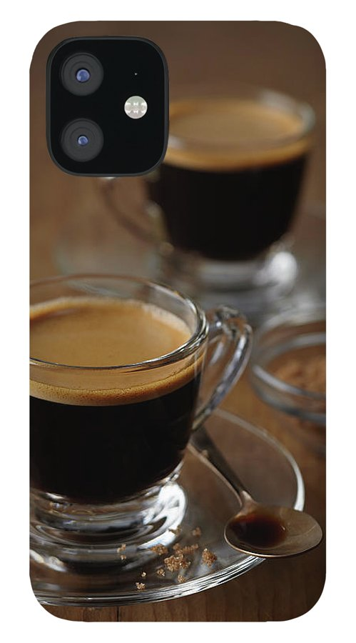 Spoon IPhone 12 Case featuring the photograph Espresso by Bruce Law