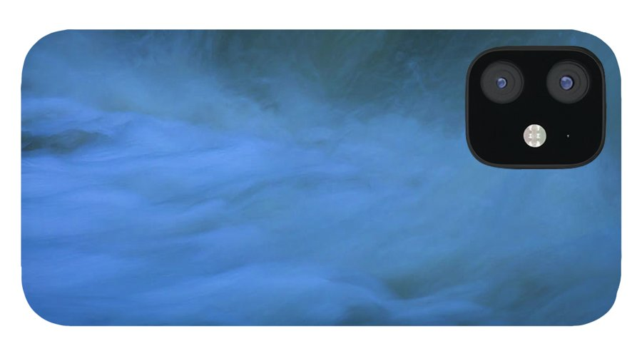 Excitement Beneath Waterfalls IPhone 12 Case featuring the photograph Excitement Beneath Waterfalls by Anthony Paladino
