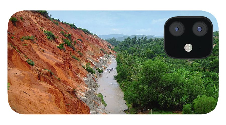 Tranquility IPhone 12 Case featuring the photograph Fairy Springs In Mui Ne by Thomas Davis