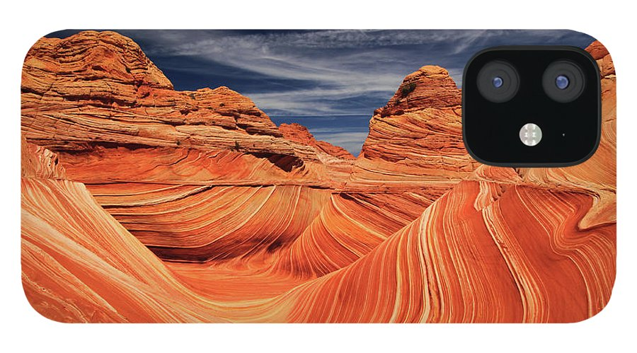 Tranquility IPhone 12 Case featuring the photograph Fantastic Wave by By Chakarin Wattanamongkol