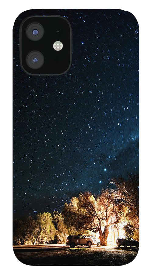 Northern Cape Province IPhone 12 Case featuring the photograph Farm House And Milky Way by Subman