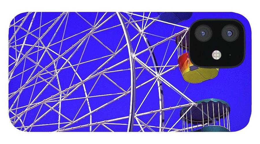 Outdoors iPhone 12 Case featuring the photograph Ferris Wheel, Sydney, Australia by Hans-peter Merten