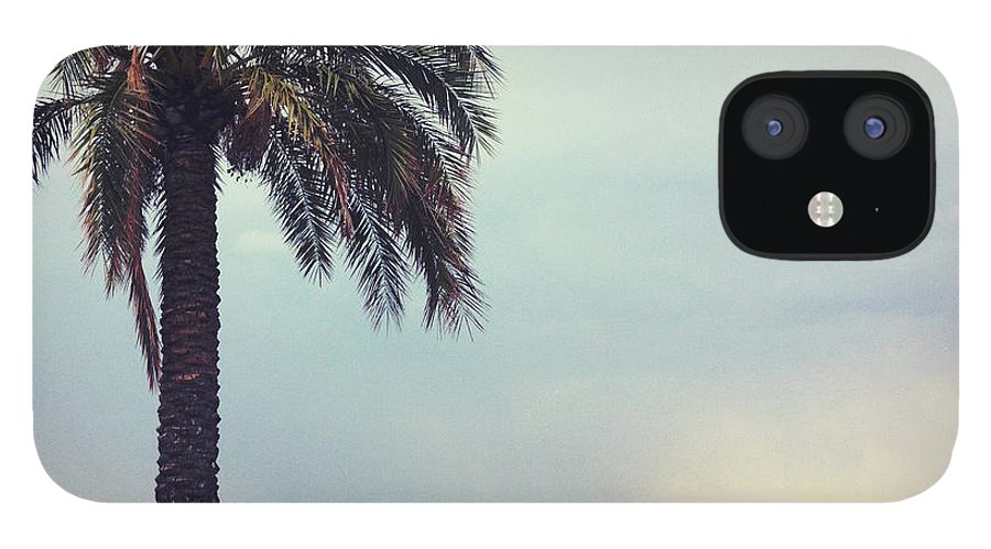 Tranquility IPhone 12 Case featuring the photograph French Riviera by Ixefra