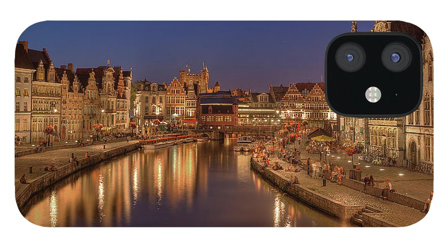 Tranquility IPhone 12 Case featuring the photograph Gent - 03101119 by Klaus Kehrls
