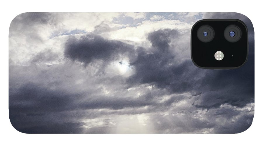 Scenics IPhone 12 Case featuring the photograph Gods Above Us by Ioseph