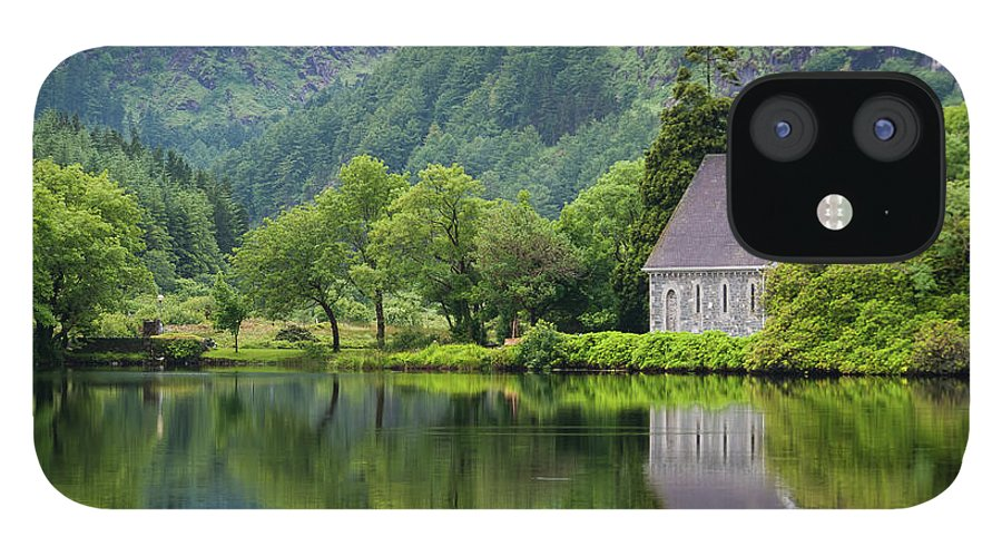 Tranquility IPhone 12 Case featuring the photograph Gougane Barra Forest Park And Lake by Bradley L. Cox