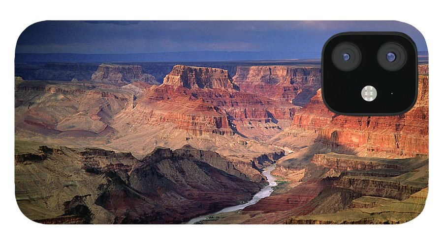 Scenics IPhone 12 Case featuring the photograph Grand Canyon, Arizon, Usa by Michael Busselle