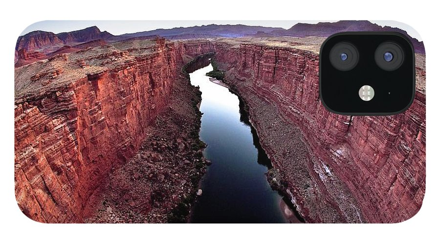 Scenics IPhone 12 Case featuring the photograph Grand Canyon, Arizona, Usa by Design Pics/richard Wear