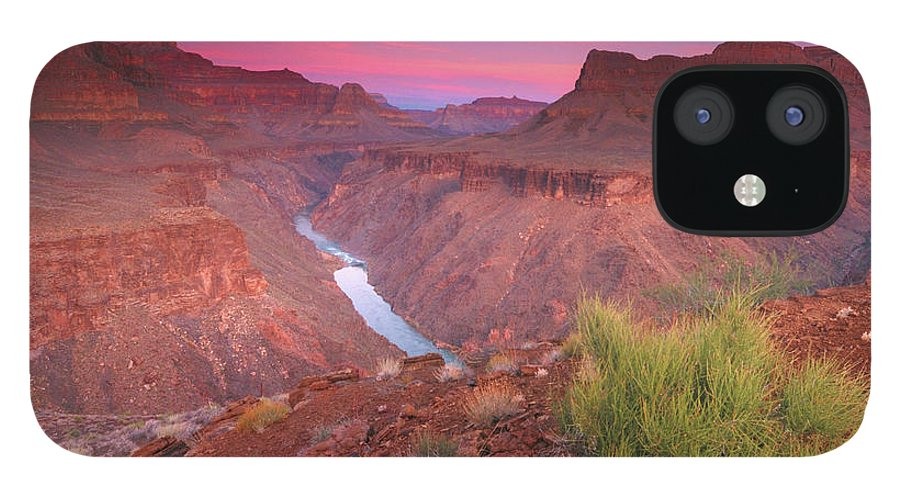 Scenics IPhone 12 Case featuring the photograph Grand Canyon Sunrise by David Kiene