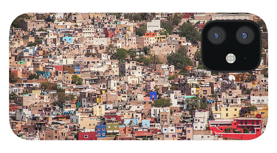 Scenics iPhone 12 Case featuring the photograph Guanajuato by Maryann Flick