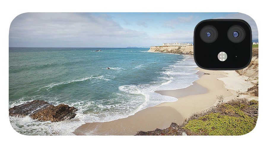 Water's Edge IPhone 12 Case featuring the photograph Half Moon Bay California by Stevegeer