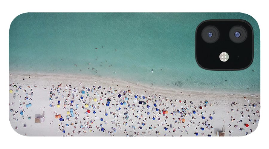 Water's Edge IPhone 12 Case featuring the photograph Haulover, Miami by Copyright Www.floridaphoto.com 305.235.7051