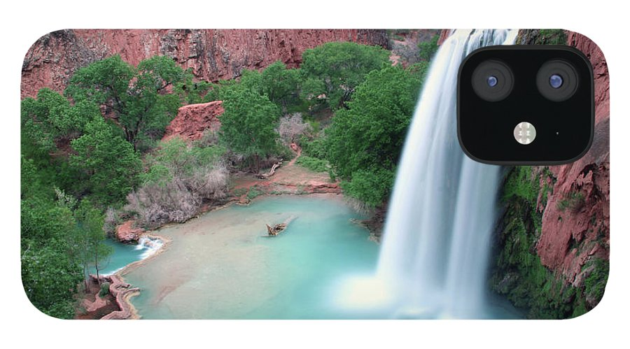 Geology IPhone 12 Case featuring the photograph Havasu Falls Landscape by Jpschrage