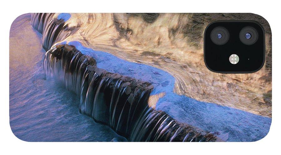 Havasu Waterfall IPhone 12 Case featuring the photograph Havasu Waterfall by Thomas Haney