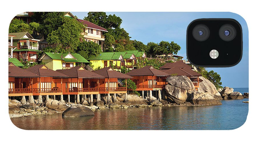 Vacations IPhone 12 Case featuring the photograph Holiday Villas by 35007