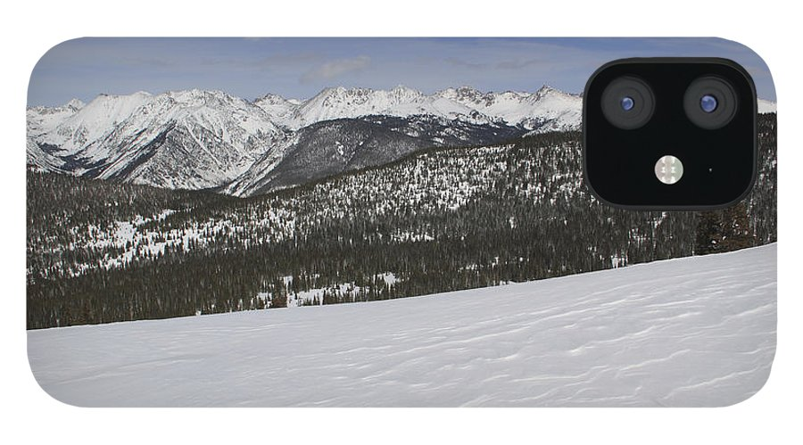 Scenics IPhone 12 Case featuring the photograph Holy Cross Wilderness Area In Winter by John Kieffer
