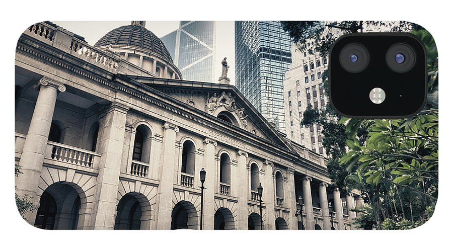 Chinese Culture IPhone 12 Case featuring the photograph Hong Kong Legislative Council by Laoshi
