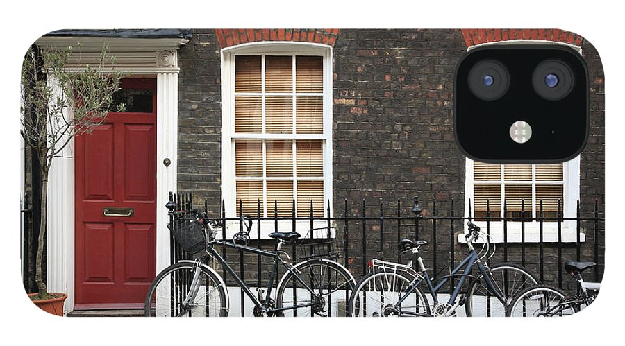 Row House IPhone 12 Case featuring the photograph House In London by Imagestock