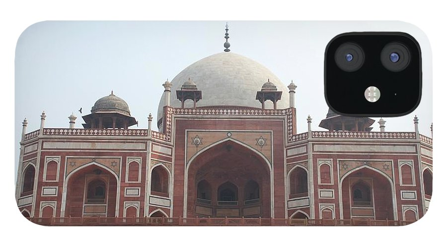 Arch IPhone 12 Case featuring the photograph Humayuns Tomb, Delhi by Brajeshwar.me