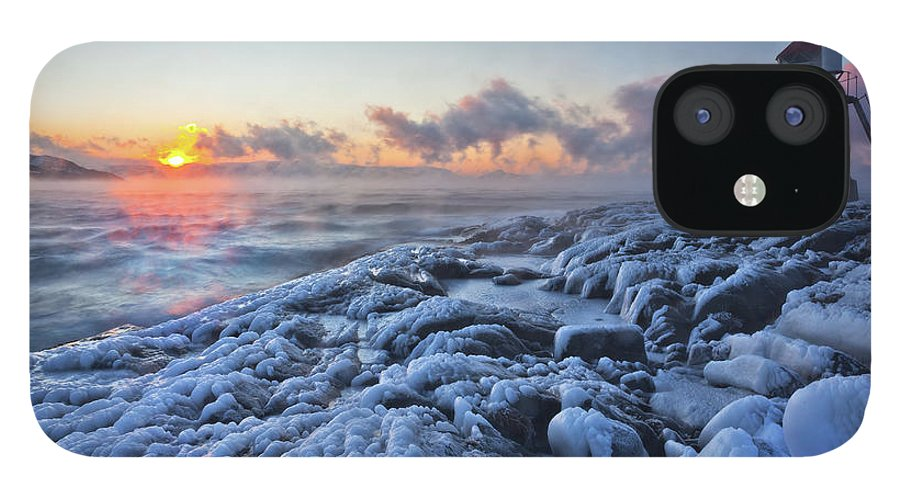 Tranquility IPhone 12 Case featuring the photograph Ice Age by Lars Mathisen Photography