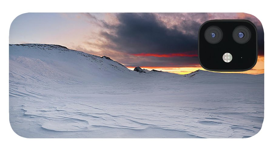 Alba IPhone 12 Case featuring the photograph Ice Age by Scacciamosche