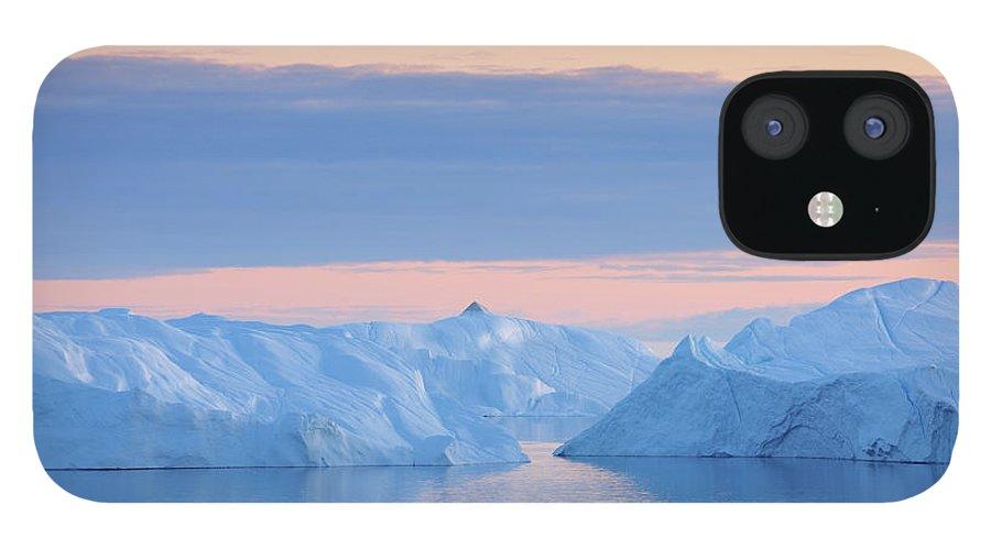 Iceberg IPhone 12 Case featuring the photograph Iceberg by Raimund Linke