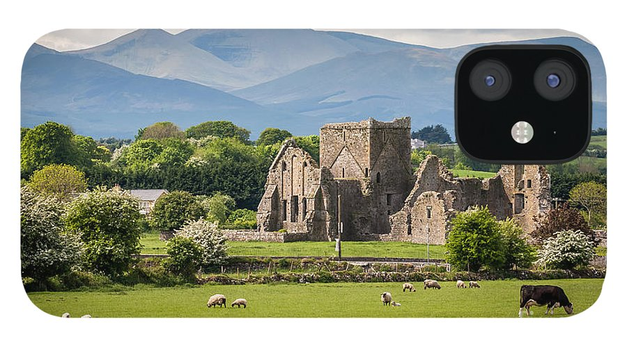 Country iPhone 12 Case featuring the photograph Idyllic Irish Landscape by Pierre Leclerc