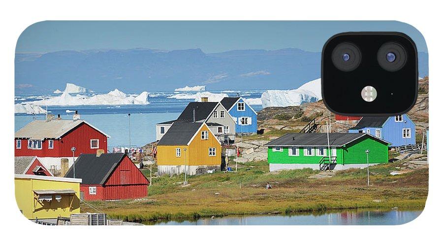 Ilulissat Icefjord IPhone 12 Case featuring the photograph Ilulissat by Cornelia Doerr