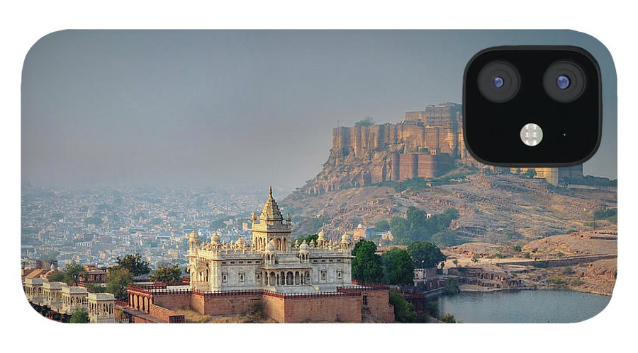 Hinduism IPhone 12 Case featuring the photograph India, Jodhpure, Mehrangarh Historic by Michele Falzone